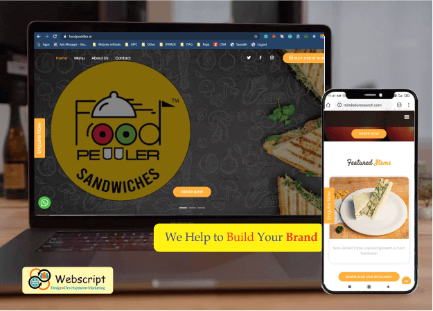 Webscript-design-website-for-Foodpeddler